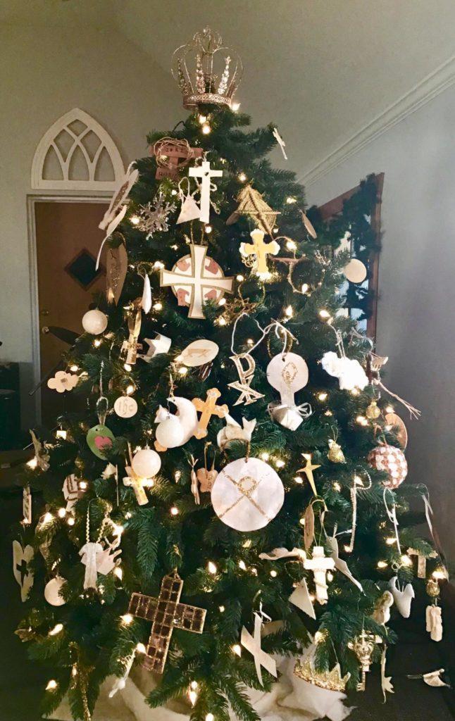 Our 2019 Chrismon Tree