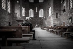 Prayer in Empty Church
